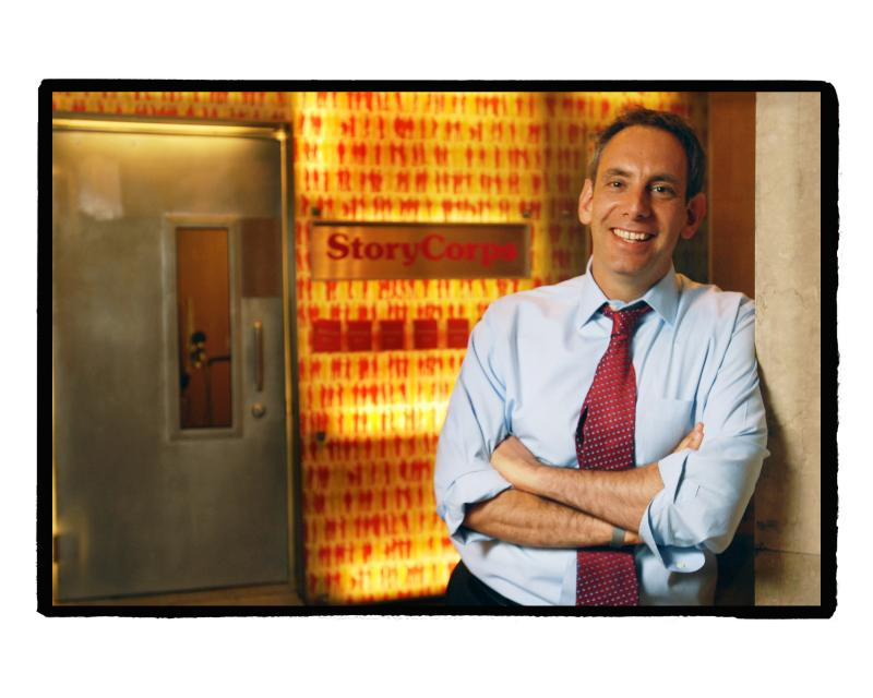 StoryCorps Founder and President Dave Isay
