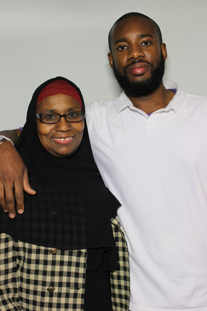 Wafeeq Zarif  interviews his mom Adilah Shabazz at StoryCorps about her life before he came around.