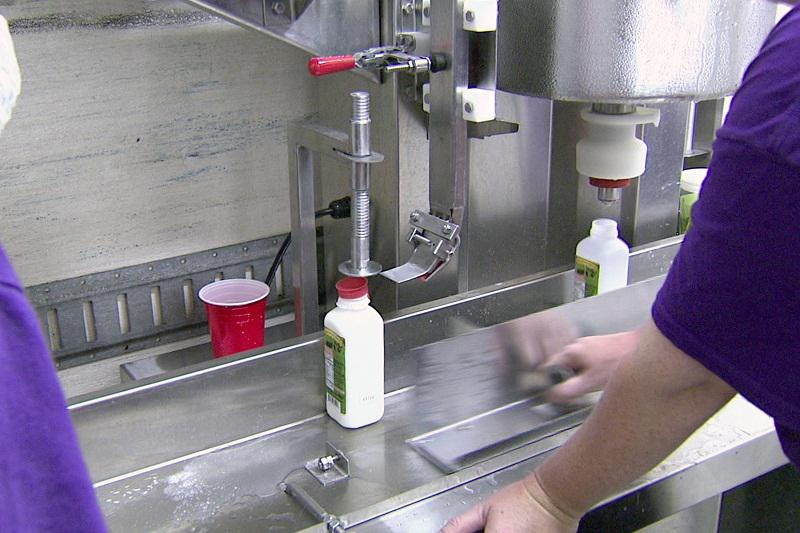 Ran-Lew Dairy processes the milk in a converted tractor-trailer truck body.