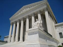 A picture of the US Supreme Court building.