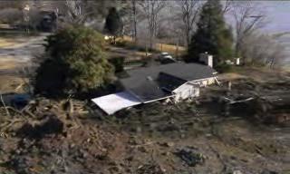 Collapsed House Near Kingston Spill