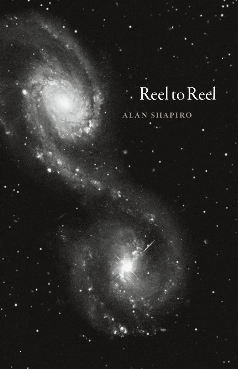 Reel to Reel book cover shows a galaxy