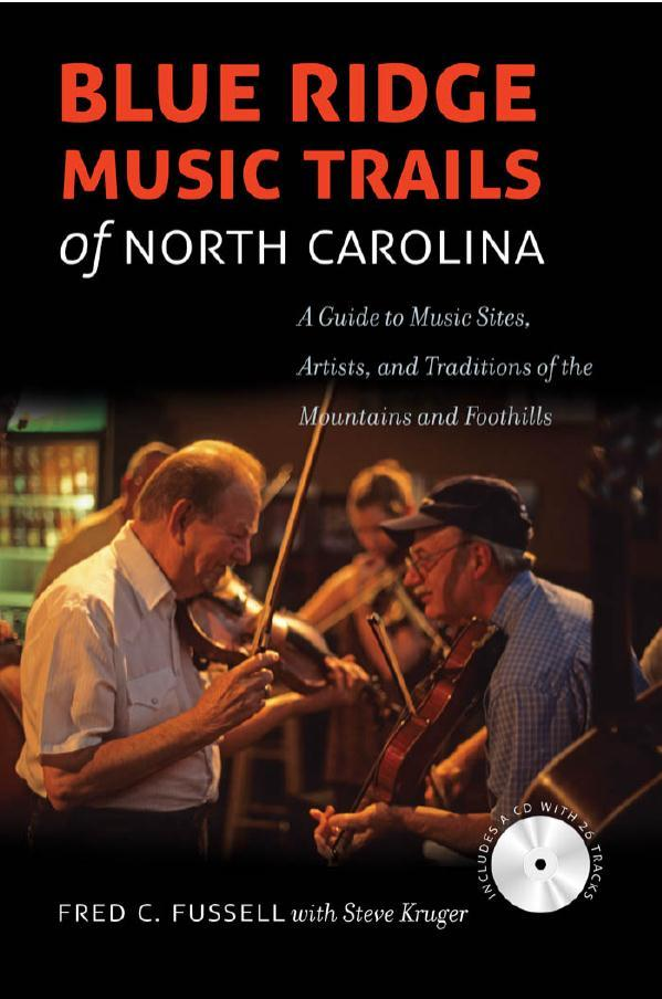 Cover Image for Blue Ridge Music Trails of North Carolina Guidebook