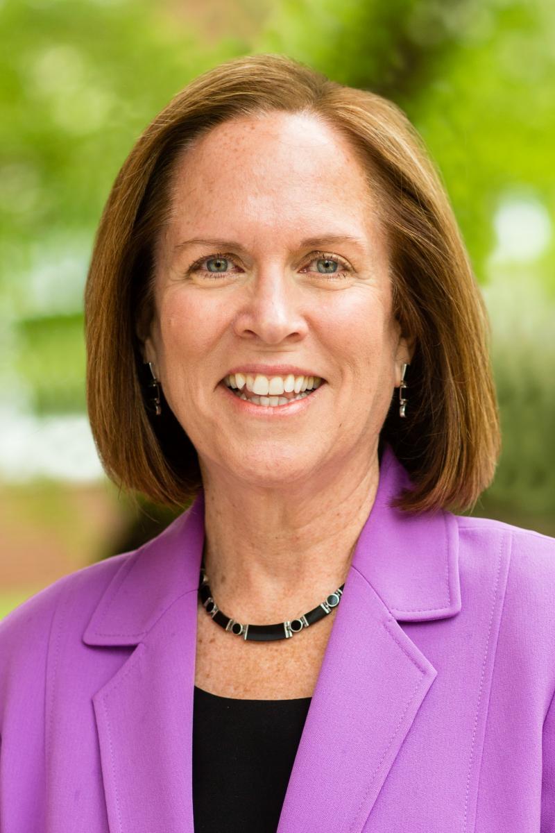 Guilford College president Jane Fernandes