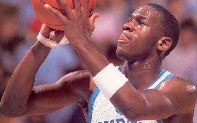 Michael Jordan during his years as a North Carolina Tar Heel