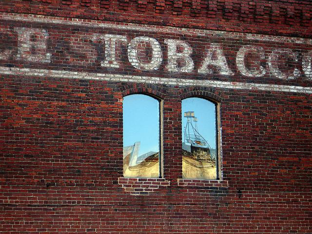 Photo: A tobacco warehouse in Durham