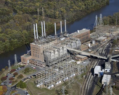 Photo: Duke Energy's coal-fired Buck Steam Station in Rowan County.