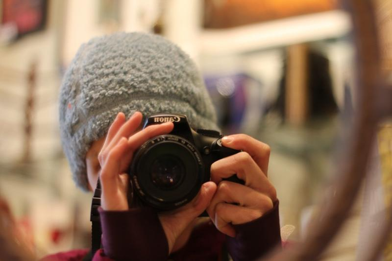 Sophie Steiner, self portrait