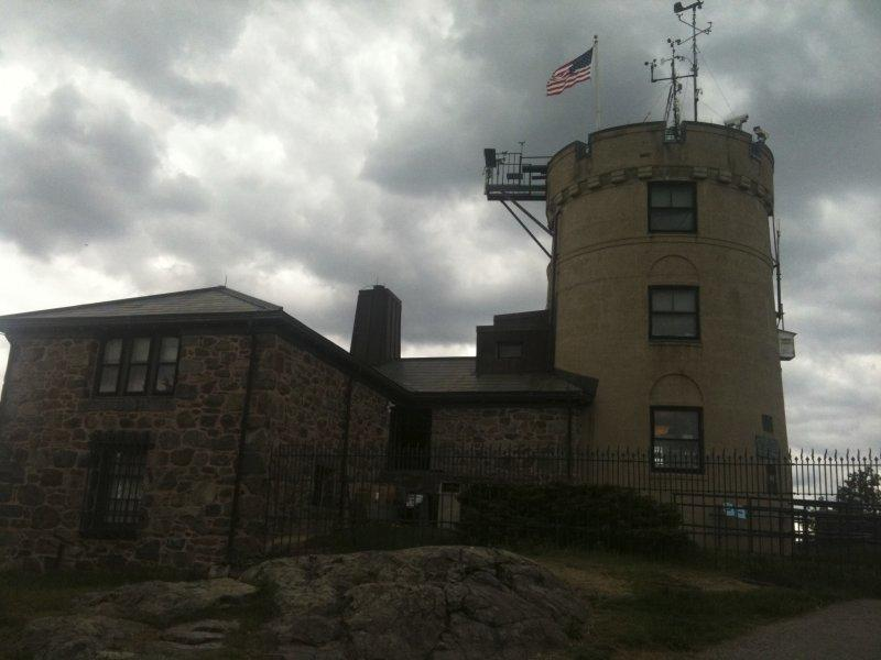 The Blue Hill Meterological Observatory in Milton, Massachusetts.