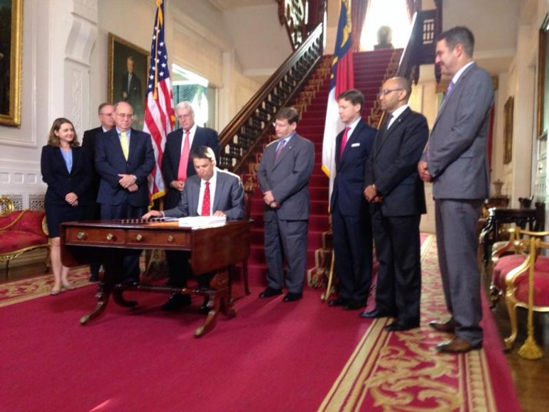 McCrory signs budget plan