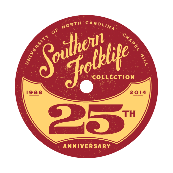 Graphic for 25th Anniversary Celebration for Southern Folklife Collection