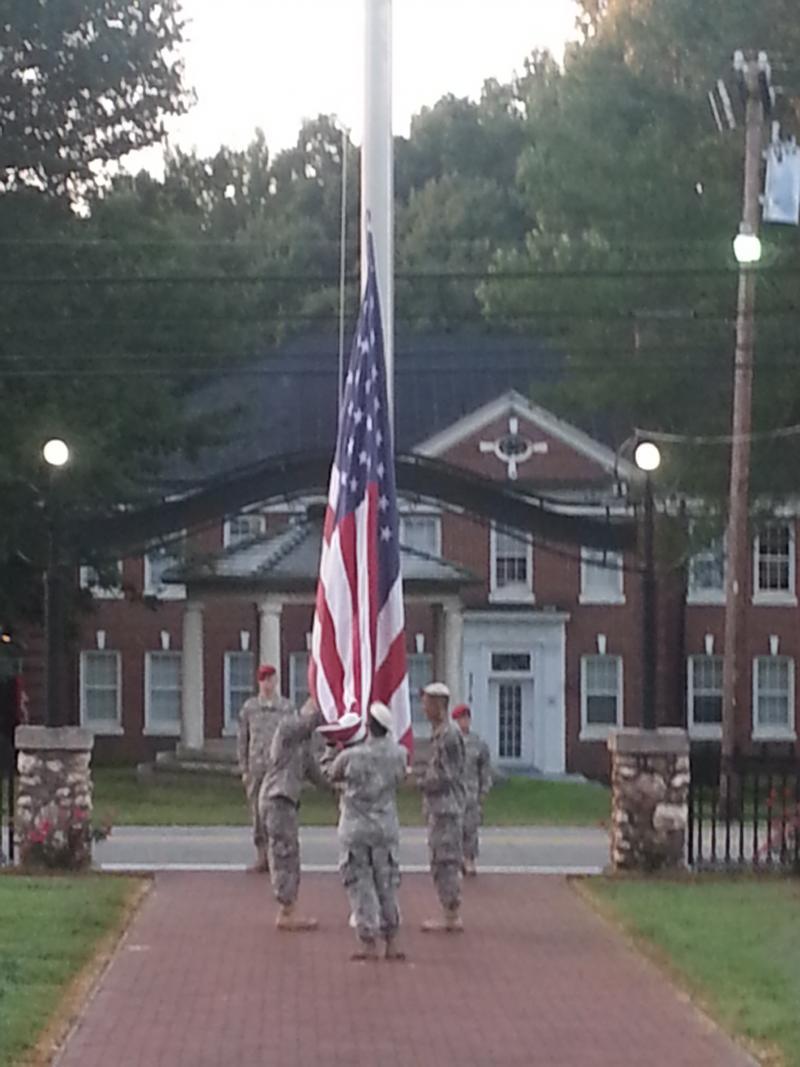 The international cadets at Oak Ridge hail from China,  Honduras, Nicaragua, El Salvador, Angola,  England, Egypt and Saudi Arabia.