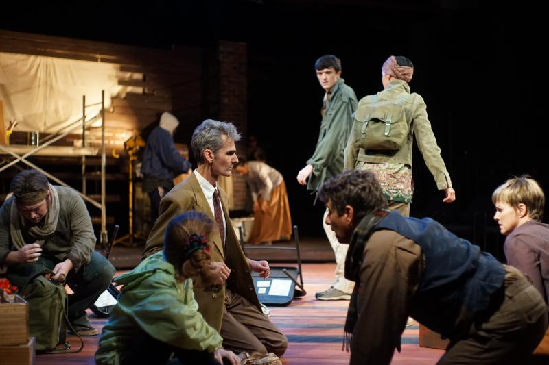Image of The company of the Burning Coal Theatre Company production of David Edgar's Pentecost