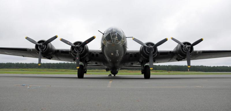 The Memphis Belle is one of 10 B-17s still flying in the U.S.