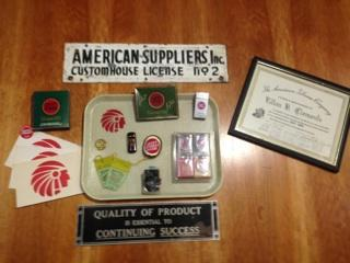 Items from the old American Tobacco Campus.
