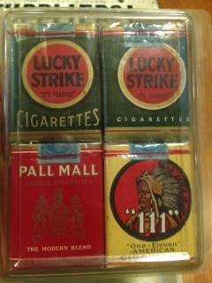 Lucky Strike Cigarettes predating World War One.