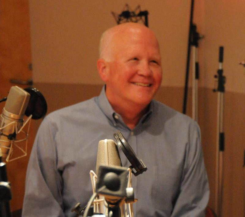 Larry Hester, at the WUNC studios, September 2014.
