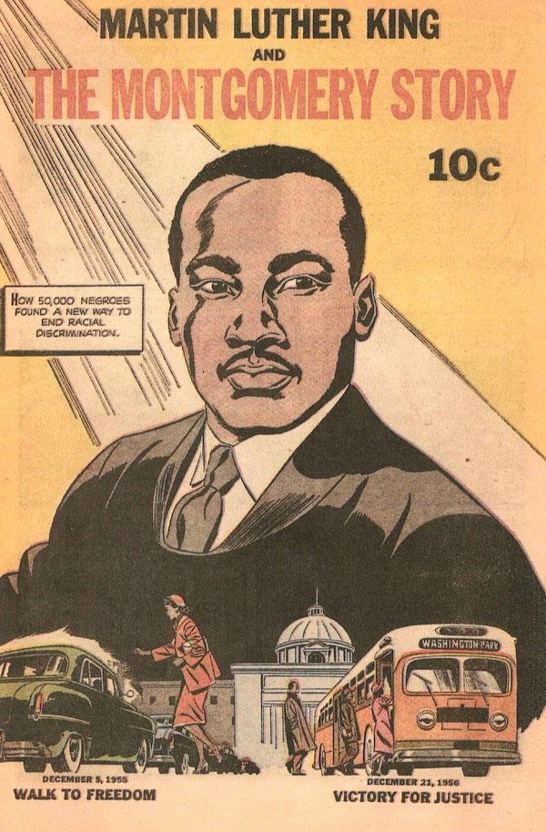 Cover of 1956's Martin Luther King