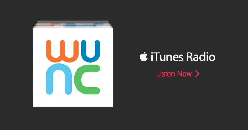 Listen to WUNC via iTunes Radio