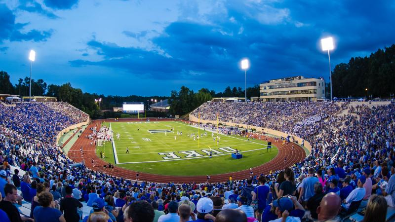 The current Wallace Wade Stadium