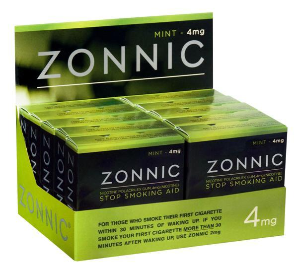 A package of Zonnic gum