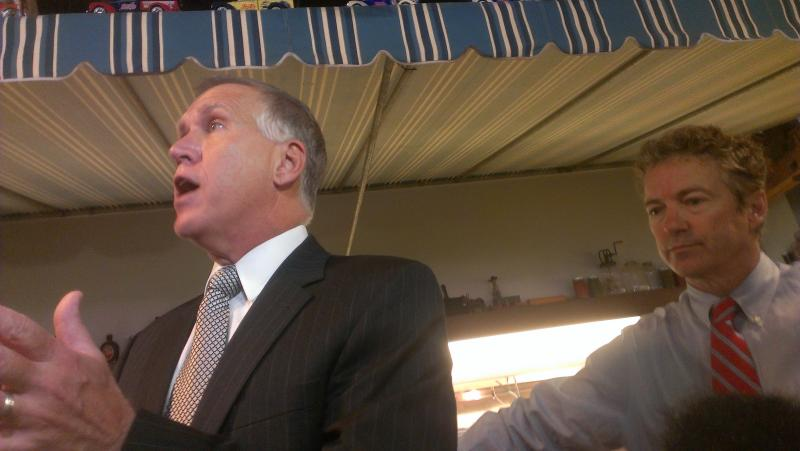 Thom Tillis, Senator Rand Paul