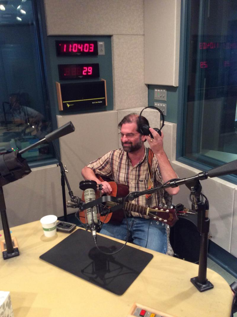 Paul Rosenberg  tests the headphones for today's show.