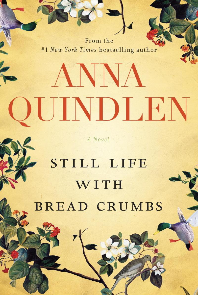 The cover of Anna Quindlen's novel Still Life with Bread Crumbs