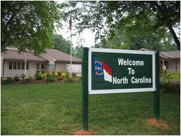 NC Welcome Sign