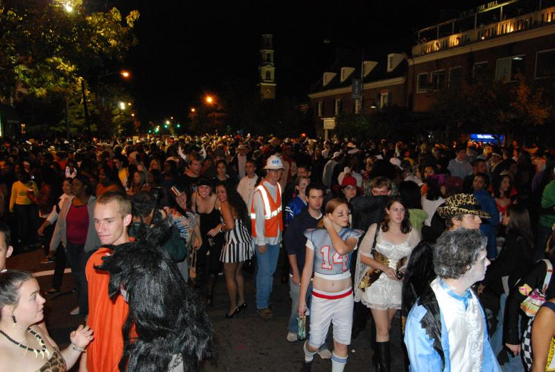 Halloween in Chapel Hill