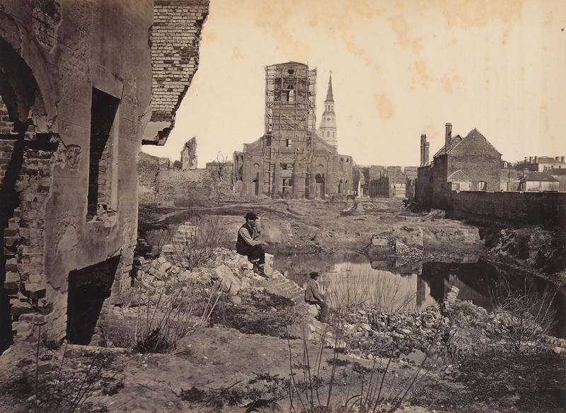 Ruins in Charleston, S.C., from the album Photographic Views of Sherman's Campaign