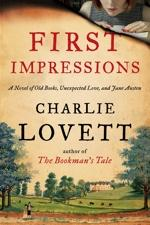 Cover Image for the novel First Impressions by Charlie Lovett