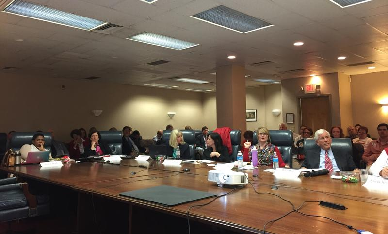 The Academic Standards Review Commission met for their third meeting on Monday.