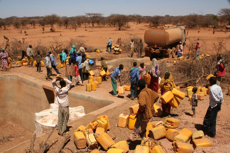 Oxfam distribution in East Africa, 2011