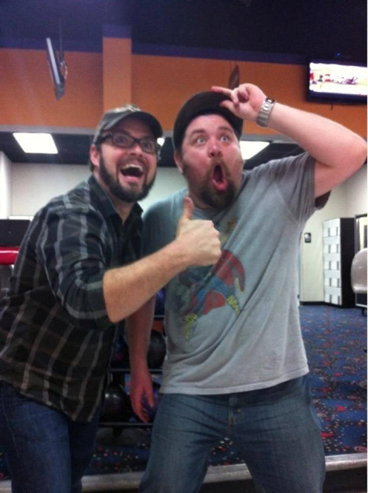North Carolina Comicon Co-owners Alan Gill and Tommy Lee Edwards.