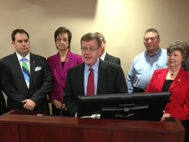 Photo: Rep. Tim Moore and NC House GOP Leadership
