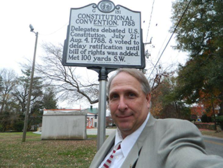 Scott Washington is the historian who proposed the marker.