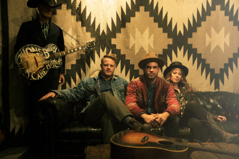 The Lone Bellow dropped by WUNC to play The State of Things.