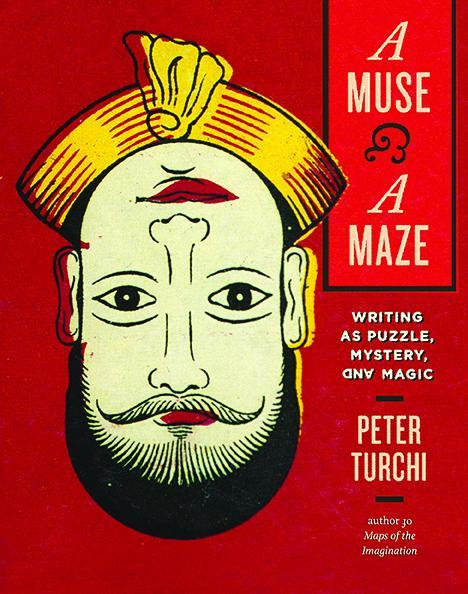 The cover for the book A Muse & A Maze by Peter Turchi