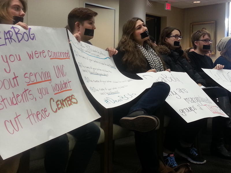 Image of Student Protesters