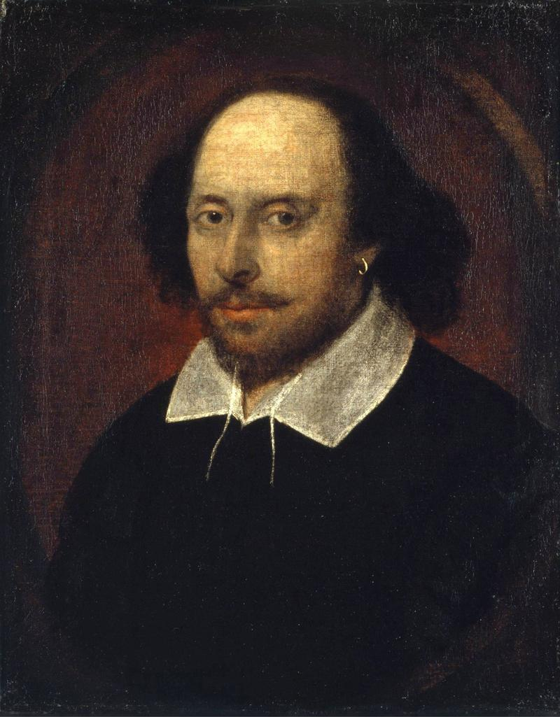 Image of William Shakespeare.