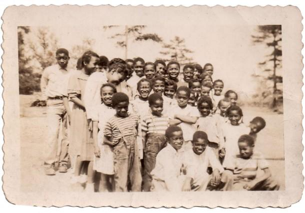 The Children from Mars Hill Anderson Rosenwald School