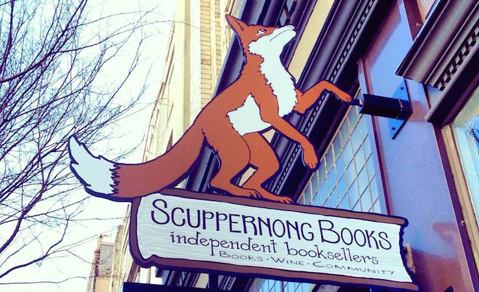 Scuppernong Books is Greensboro's independent bookstore. They are part of a revitalization in downtown and hope to be place where conversations happen.