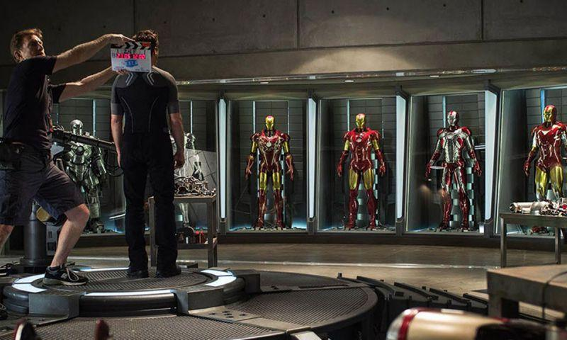 Photo: Filming of Iron Man 3