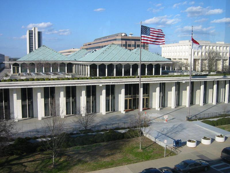 The North Carolina legislative office building