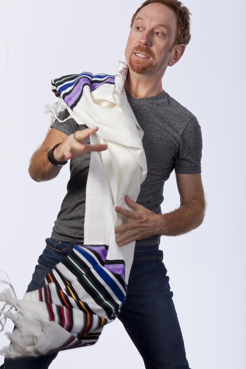 Image of writer and performer Aaron Davidman.