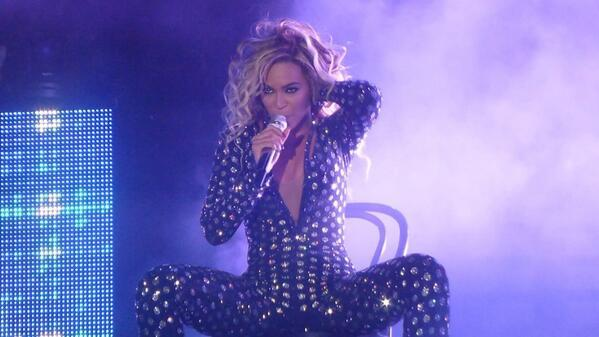 Beyoncé made headlines at the end of 2013 with the suprising release of her self-titled album and talks continued through 2014.