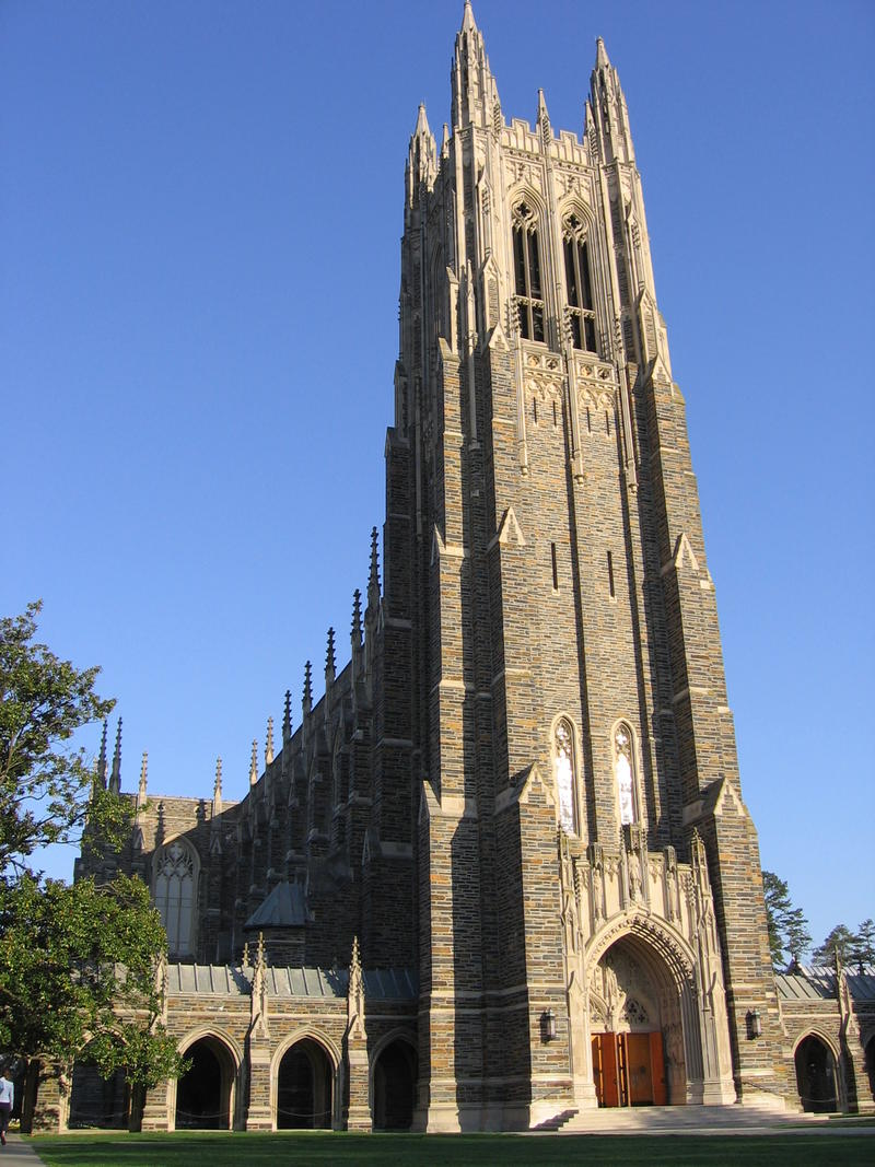 Duke University decided not to allow for a Muslim call to prayer from the Duke Chapel bell tower.
