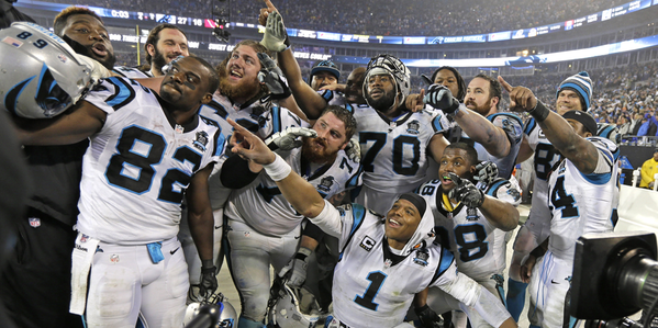 A group photo of the Panthers.