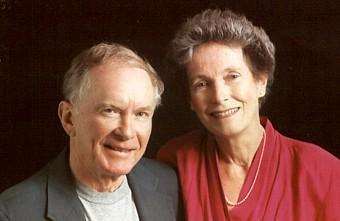 Shelby Stephenson (left) is North Carolina's new Poet Laureate.